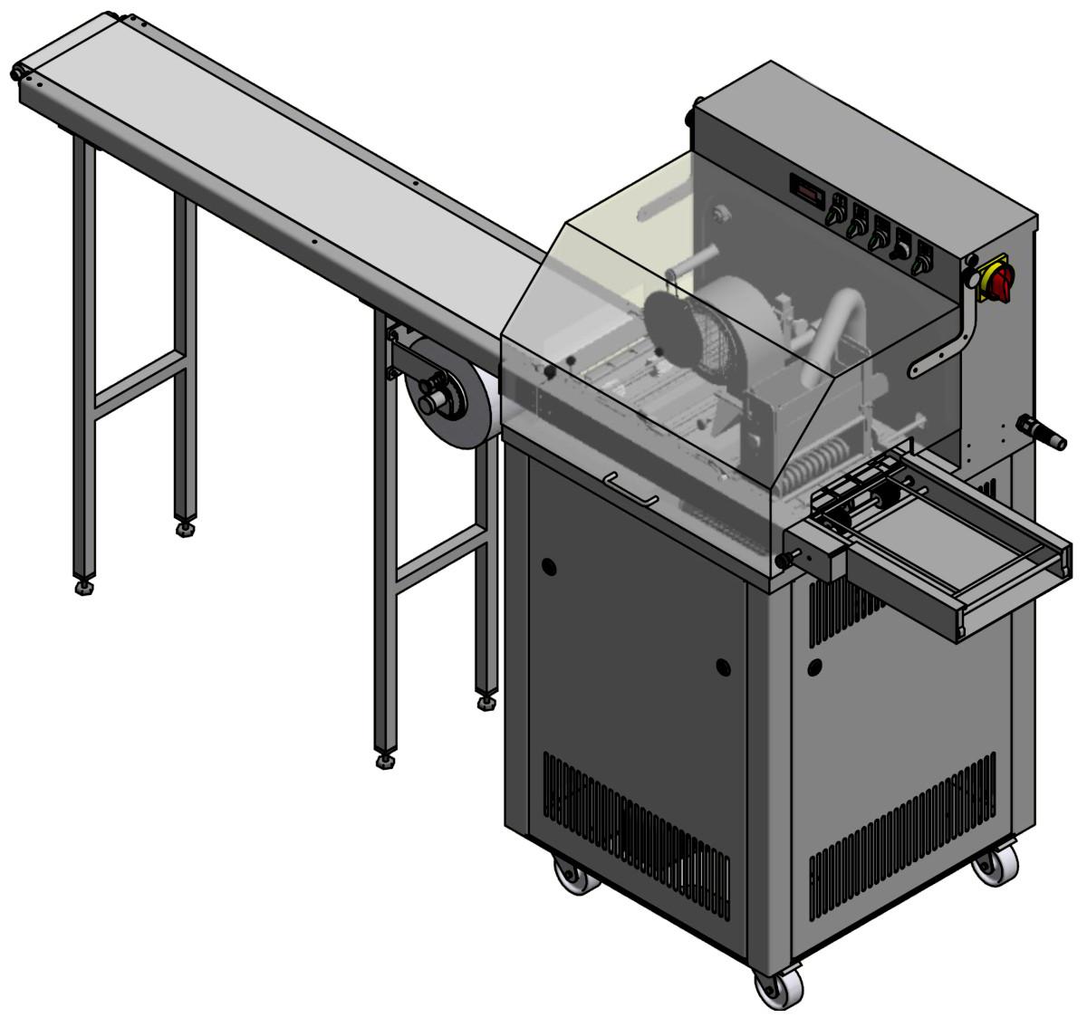 LCM 21000 106 Überzugsmaschine 180 ATC S 1.2m Papierband