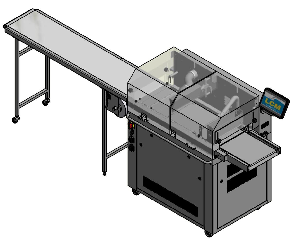 LCM 52000 105 Überzugsmaschine 320 ATC mit 1.6m Papierband
